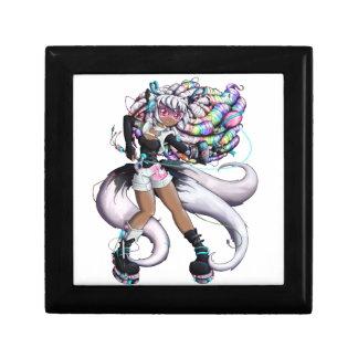 Cyber Kitsune Girl Gift Box