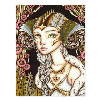 Cyber Lady Postcard
