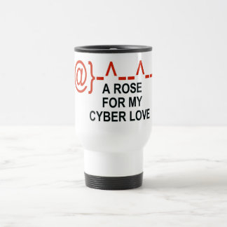 Cyber Love Travel Mug