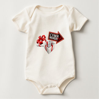 Cyber Monday Black Friday Sale Sign Baby Bodysuit
