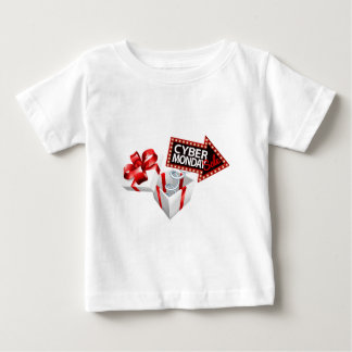 Cyber Monday Black Friday Sale Sign Baby T-Shirt