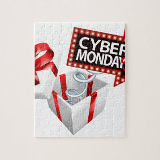 Cyber Monday Black Friday Sale Sign Jigsaw Puzzle