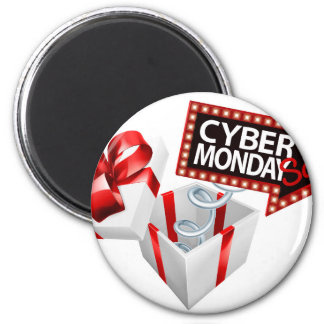 Cyber Monday Black Friday Sale Sign Magnet