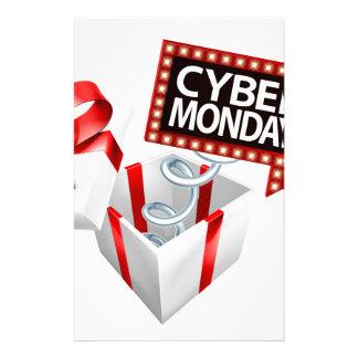 Cyber Monday Black Friday Sale Sign Stationery