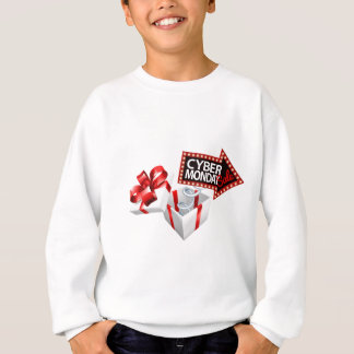 Cyber Monday Black Friday Sale Sign Sweatshirt