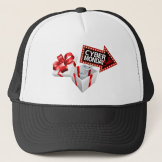 Cyber Monday Black Friday Sale Sign Trucker Hat