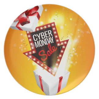 Cyber Monday Sale Exciting Gift Sign Plate