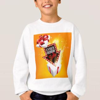 Cyber Monday Sale Exciting Gift Sign Sweatshirt