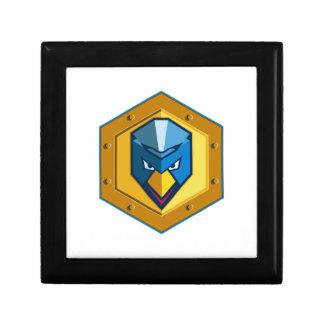 Cyber Punk Chicken Hexagon Icon Gift Box