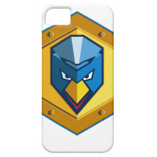 Cyber Punk Chicken Hexagon Icon iPhone 5 Covers