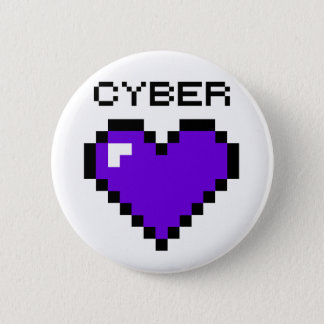 Cyber Warfare Purple Heart button
