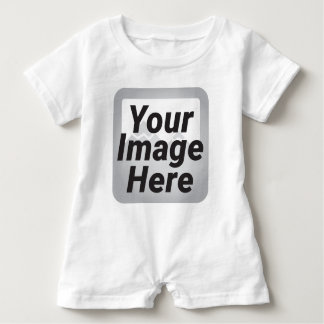 Cyber Yellow Abstract Low Polygon Background Baby Romper