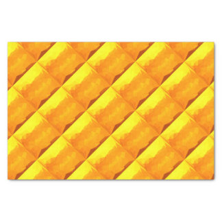 Cyber Yellow Abstract Low Polygon Background Tissue Paper