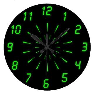 Cyberdelic Wall Clock