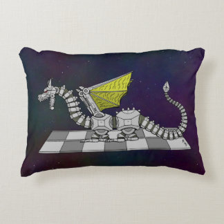 Cyberdragon Accent Pillow