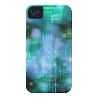 CyberGirl iPhone 4 Case-Mate Case