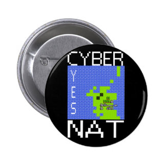 CYBERNAT badge Reg 2 Inch Round Button