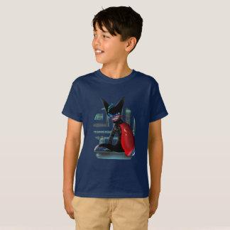 Cyberpunk Ninja Cat T-Shirt