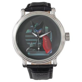 Cyberpunk Ninja Cat Watch