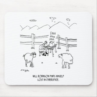 Cyberspace Cartoon 6736 Mouse Pad
