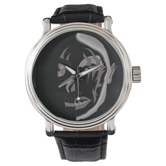 CYBORG , ANDROID MAN & MACHINE WRIST WATCH