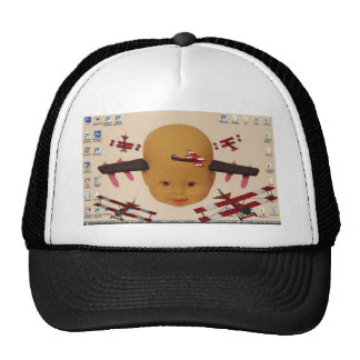 Cyborg Baby Air Brigade Trucker Hat