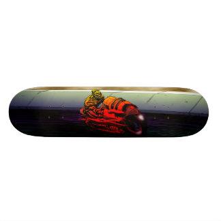 Cyborg Biker Skateboard