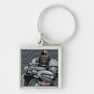 Cyborg Keychain