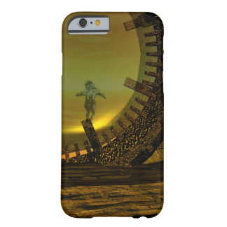 CYBORG TITAN,DESERT HYPERION Science Fiction Scifi Barely There iPhone 6 Case
