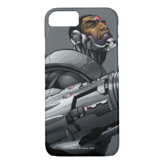 Cyborg & Weapon Bust 2 iPhone 7 Case