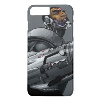 Cyborg & Weapon Bust 2 iPhone 8 Plus/7 Plus Case