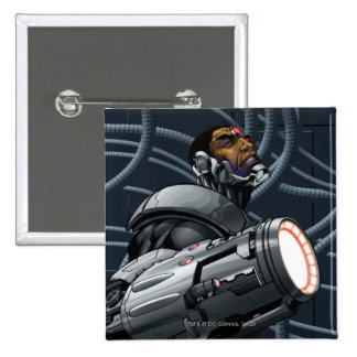 Cyborg Weapon Bust Button