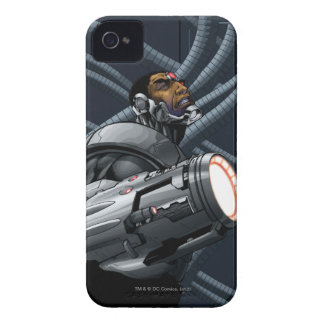 Cyborg & Weapon Bust iPhone 4 Covers