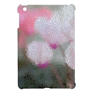 Cyclamen Flowers Mosaic Cover For The iPad Mini