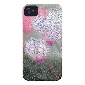 Cyclamen Flowers Mosaic iPhone 4 Case-Mate Case