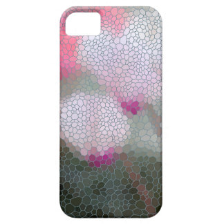 Cyclamen Flowers Mosaic iPhone 5 Cover