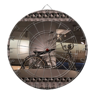 Cycle Bicycle art graphic deco template add text Dartboards