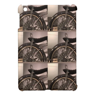 Cycle Bicycle art graphic deco template add text iPad Mini Covers