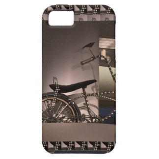 Cycle Bicycle art graphic deco template add text iPhone 5 Case