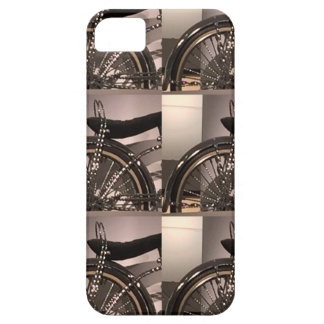 Cycle Bicycle art graphic deco template add text iPhone 5 Covers