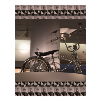 Cycle Bicycle art graphic deco template add text Letterhead
