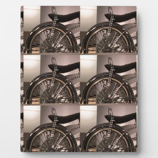 Cycle Bicycle art graphic deco template add text Plaque