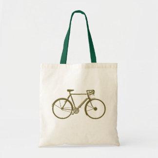 cycle:) cycling budget tote bag