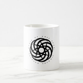 Cycle of Ages Saga: Container w/ Black Logo Classic White Coffee Mug