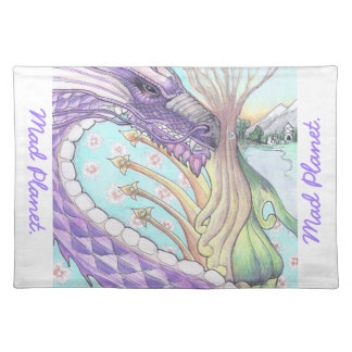 Cycle of Life Dragon Drawing Place Mat