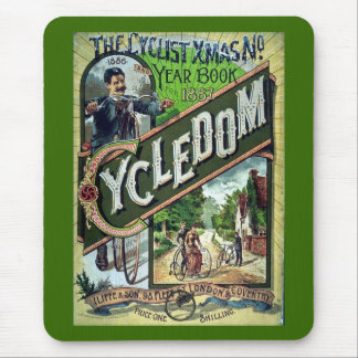 Cycledom Vintage 1886 Catalog Mouse Pad