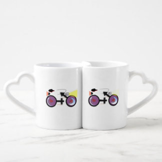 CycleNuts Lovers Set Nesting Coffee Mugs