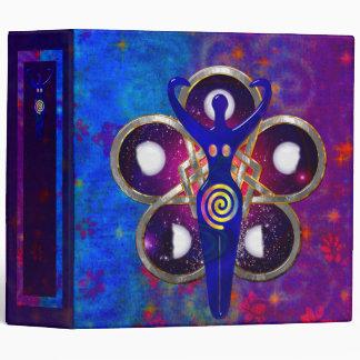 Cycles 3D Goddess Worship Vinyl Binder