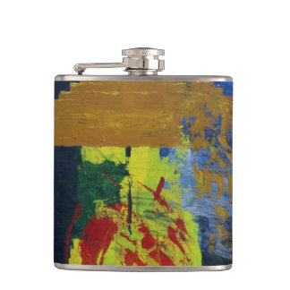 Cycles Abstract Printed Flask