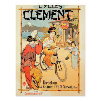 Cycles Clement Pre Saint-Gervais Postcard